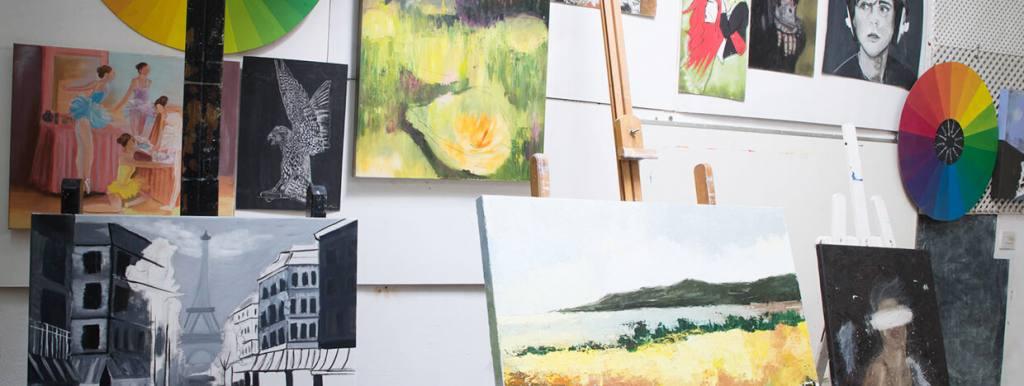 Estudio de pintura en Bilbao